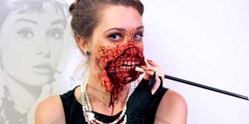 disfraz famosa zombie