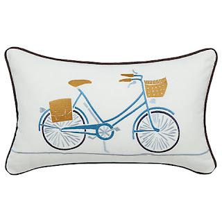Scion Snowdrop Bicycle cushion