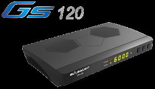 Atualização Globalsat GS 120 Plus V1.17 - 24/07/2018