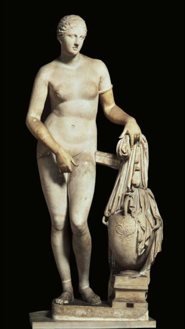 The Colonna Venus Aphrodite of Knidos Museo Pio-Clementino, in the Vatican Museum