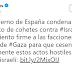 España condenó el lanzamiento de cohetes hacia territorio israelí