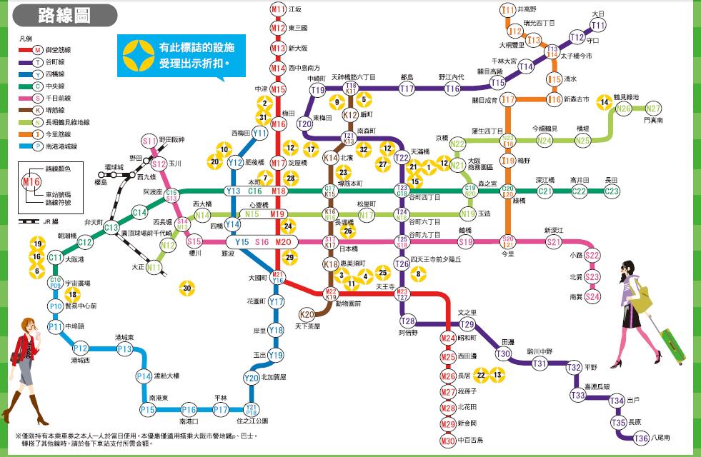 大 版 地鐵