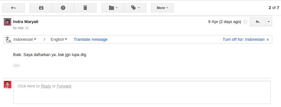 Email OKE, Sudah terdaftar