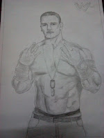 John Cena Pencil drawing