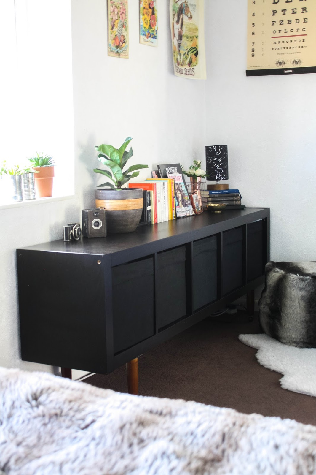 cityscape bliss uk lifestyle blog based in birmingham ikea hack kallax with legs. Black Bedroom Furniture Sets. Home Design Ideas