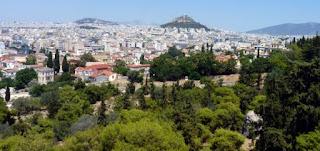 Vistas de Atenas.
