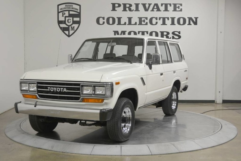 1988 toyota land cruiser fj62 series for sale 88 416 original miles mint. Black Bedroom Furniture Sets. Home Design Ideas