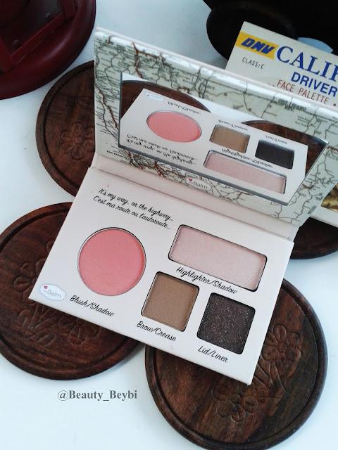 The balm , california palet,