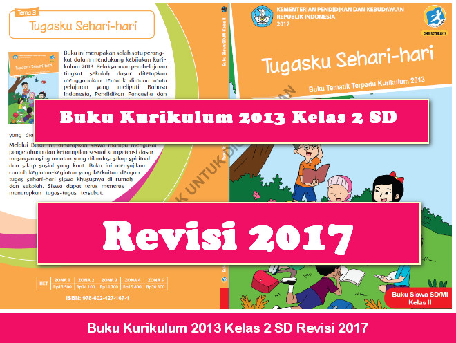 Buku Kurikulum 2013 Kelas 2 SD Revisi 2017