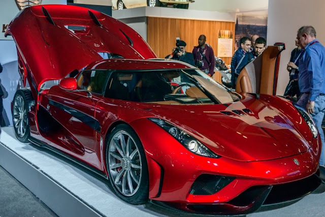 Koenigsegg Regera. A dream with price