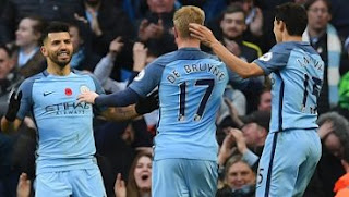 Manchester City vs Middlesbrough Berakhir Imbang 1-1