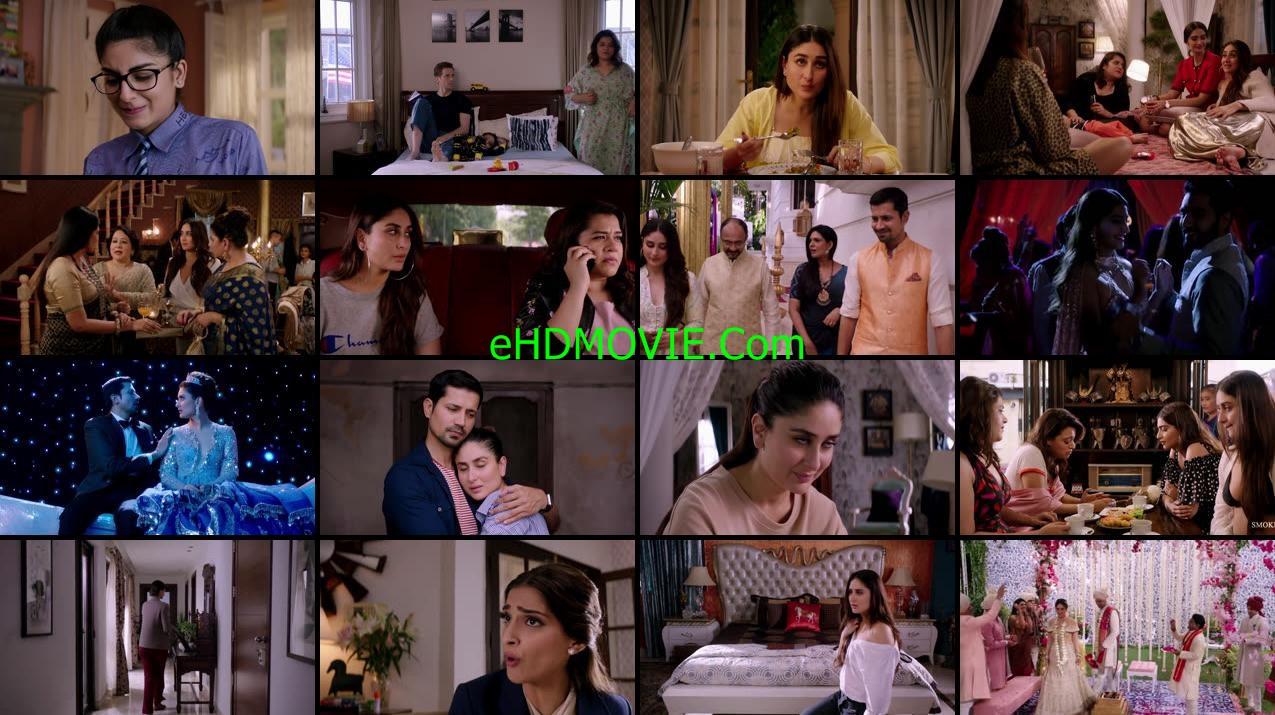 Veere Di Wedding 2018 Full Movie Hindi 1080p - 720p - HEVC - 480p ORG WEB-DL 150MB - 350MB - 500MB - 1GB - 2.5GB ESubs Free Download