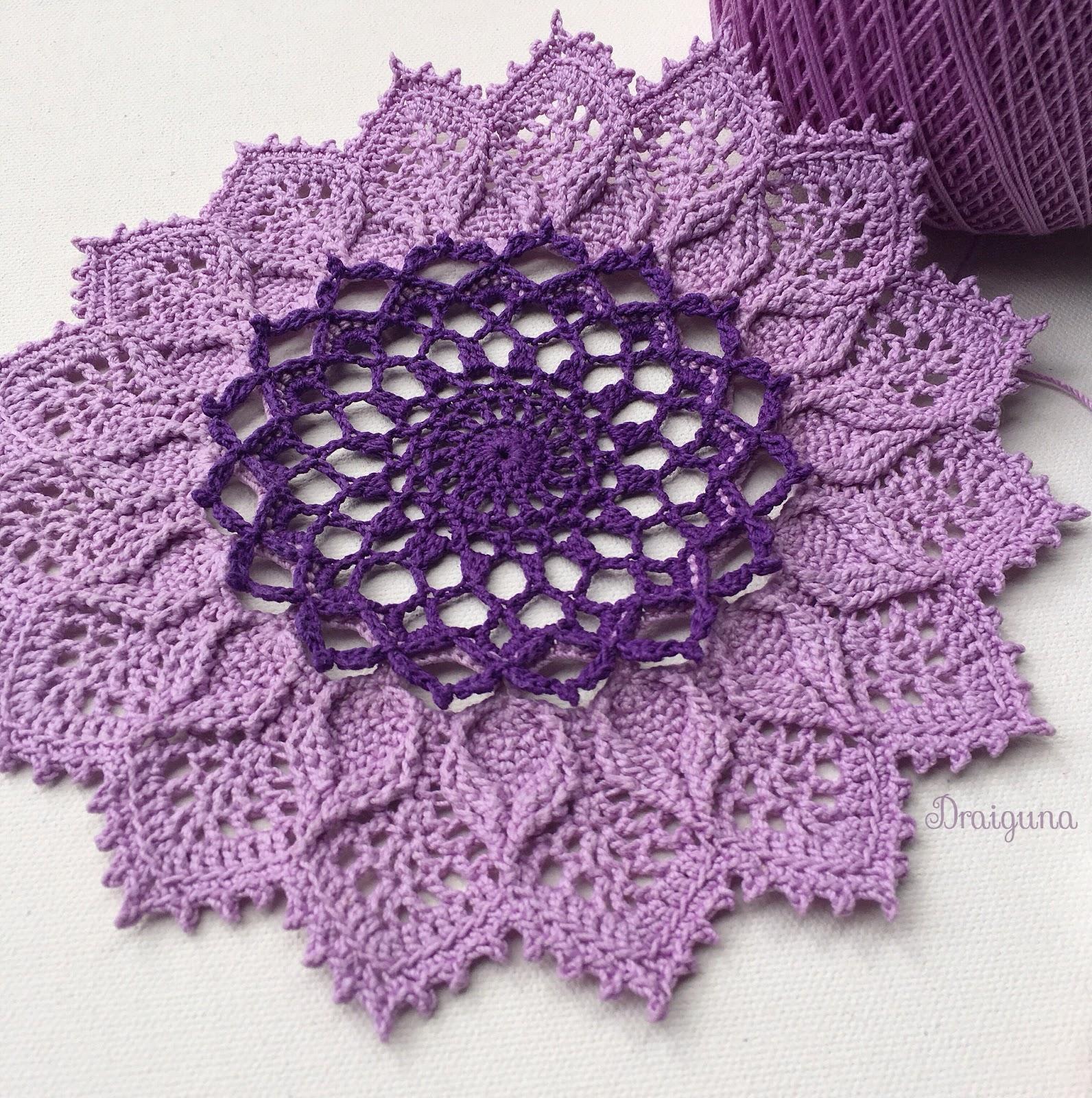 Draiguna Arcanoweave Part 2 Free Crochet Doily Patterns