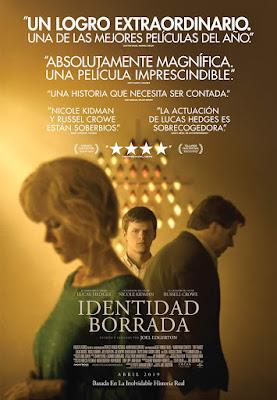 IDENTIDAD BORRADA  - Poster españa