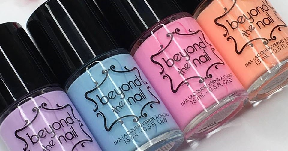 Nail Experiments: Beyond the Nail   Soft Neons Collection Swatches ...