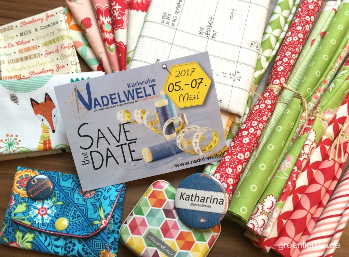 Save the date: Nadelwelt Karlsruhe vom 05.-07. Mai 2017