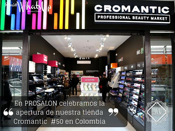 Prosalon-apertura-tienda-Cromantic-cincuenta-Colombia