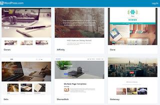 Pilih Theme Wordpress Com