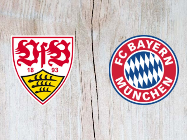 VfB Stuttgart vs Bayern Munich Full Match Highlights 01 September 2018