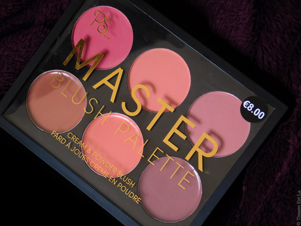 Primark PS... Master Blush Palette - Cream & Powder Blush - Review & Swatches - Avis et Revue - Swatch - Master Highlight Palette - Master Eye Palette - Master Contour Palette - Primark Makeup - Primark Beauty