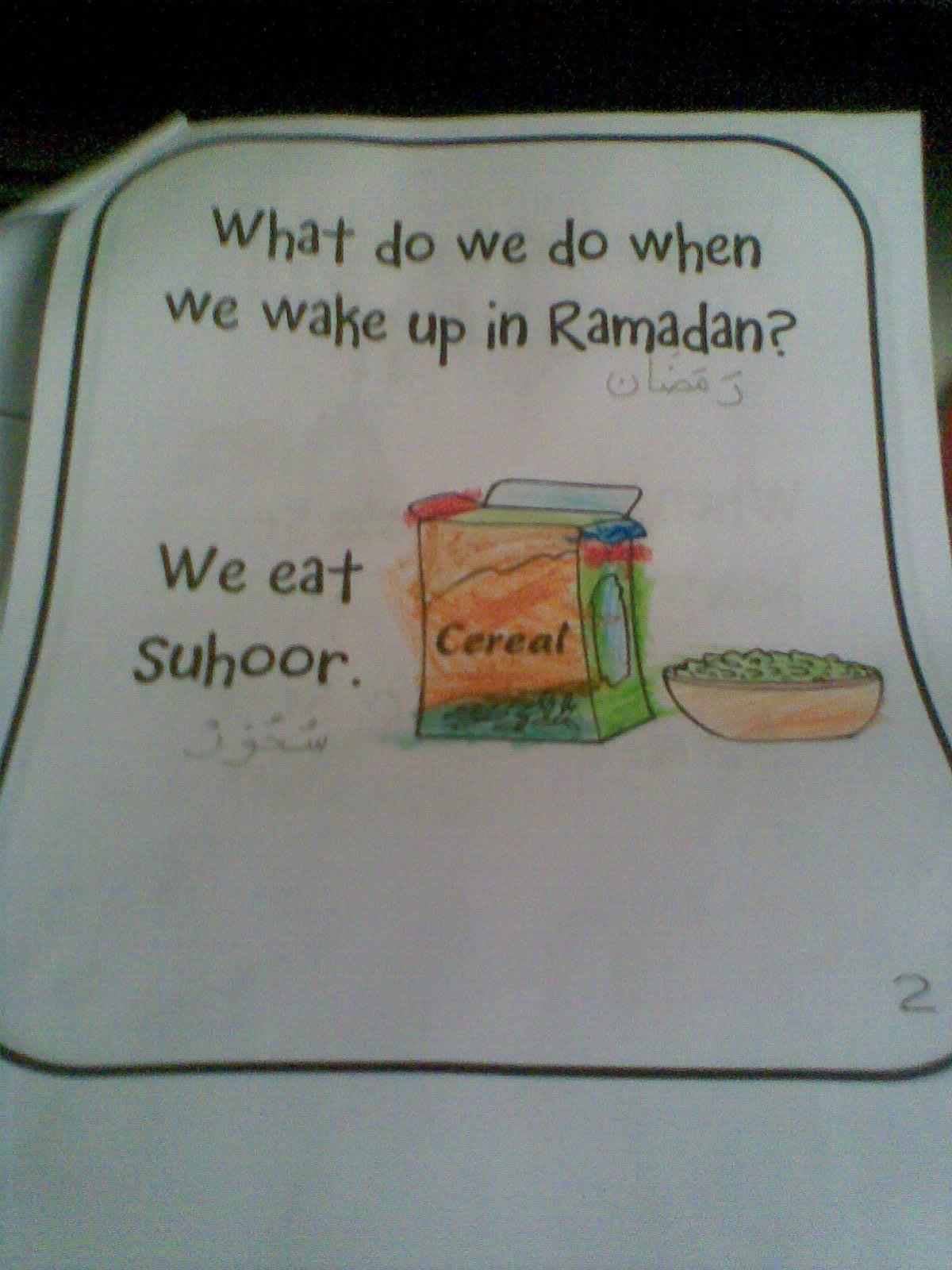 Ramadan Activity 4 Ramadan Kindergarten Reading Coloring Book