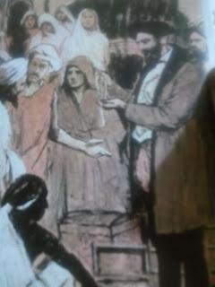 Vasco da Gama, bien recibido en Calicut, acepta los regalos de un potentado hindú
