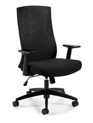 Offices To Go 11980B Mesh Back Chair at OfficeFurnitureDeals.com
