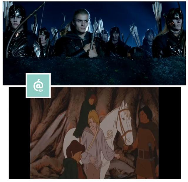 Elfos - El Señor de los Anillos: Peter Jackson Vs Ralph Bakshi - JRRTolkien - ÁlvaroGP - el fancine - el troblogdita