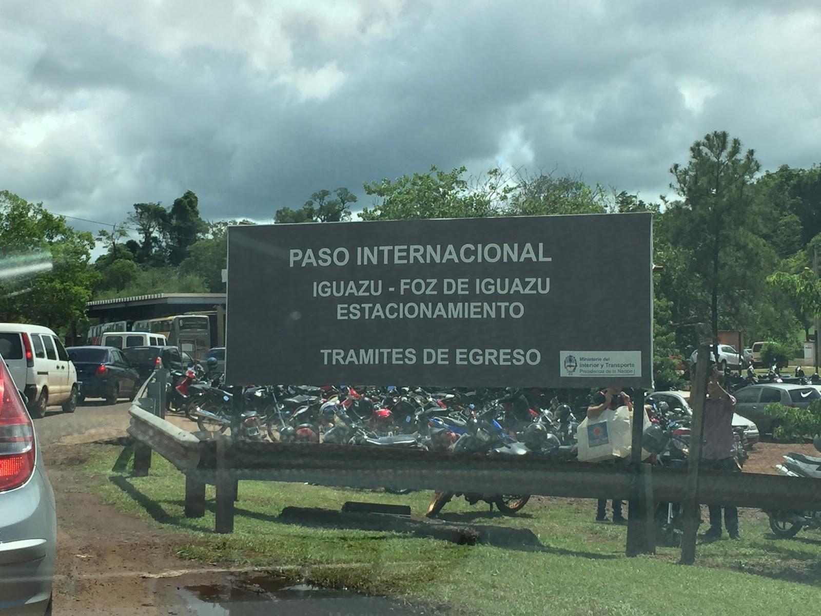 Paso Internacional Iguazu
