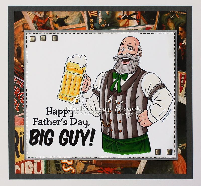 Nick´s Scrap Shack: Old Time Bartender from KennyK