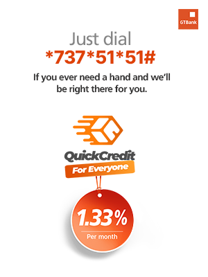 Gtbank Quick Credit? Click Here...