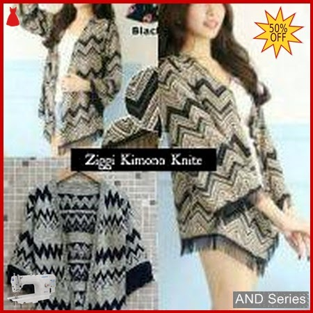AND110 Cardigan Wanita Ziggie Kimono Cardie Rajut BMGShop