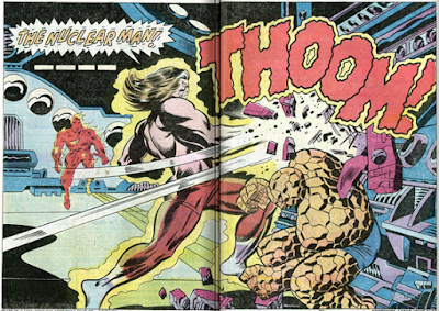 Fantastic Four 151 Thundra and Lightning