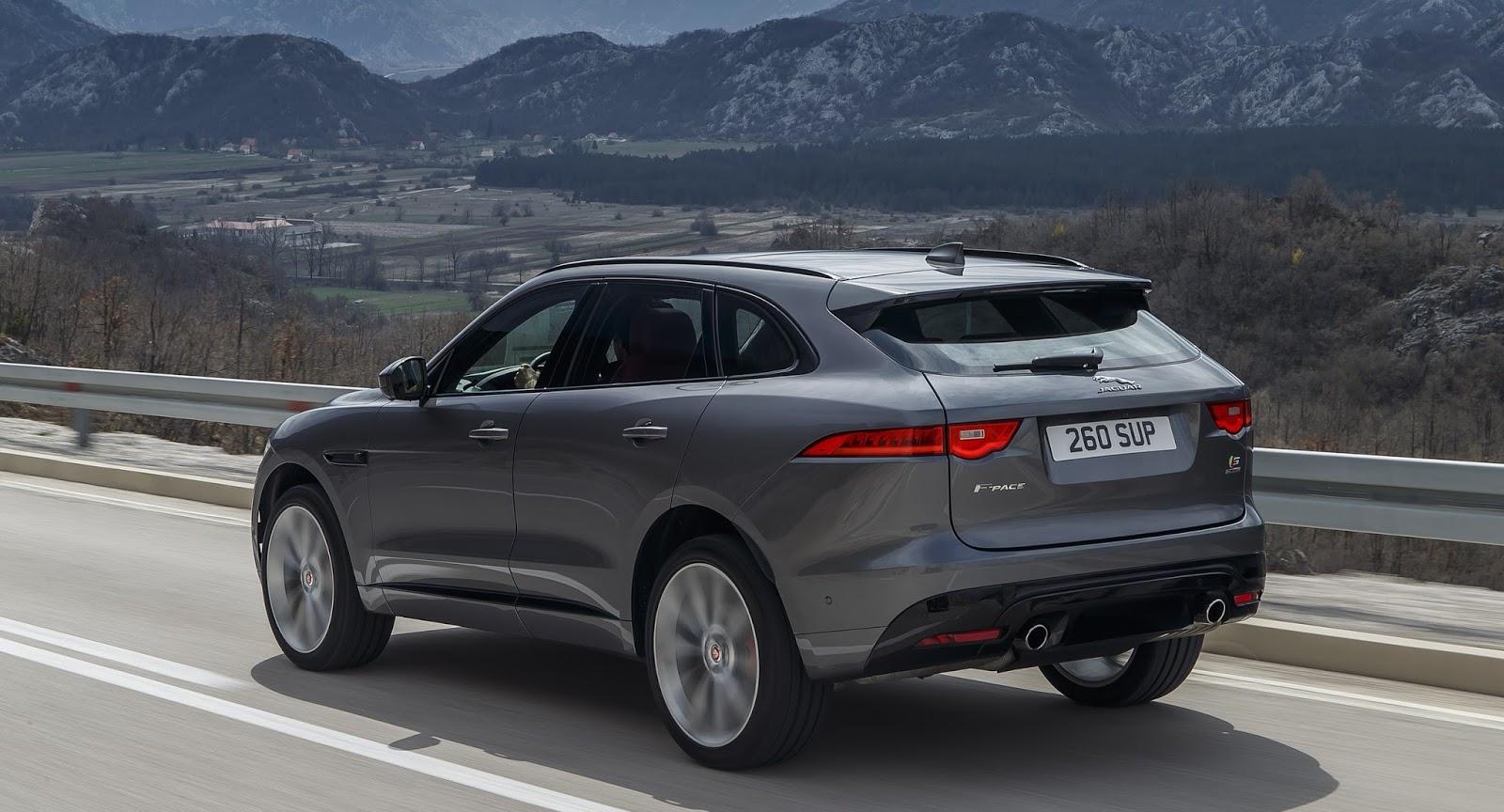 autokavla: 2020 Jaguar F‑PACE S