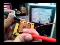 Cara Mengukur Transformator Dengan Multimeter