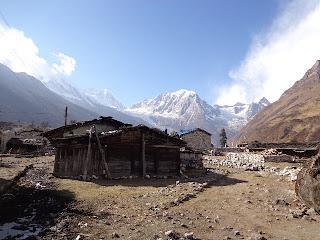 Shyla the beautiful village of the Manaslu trekking,photos by the manaslu trek Guide