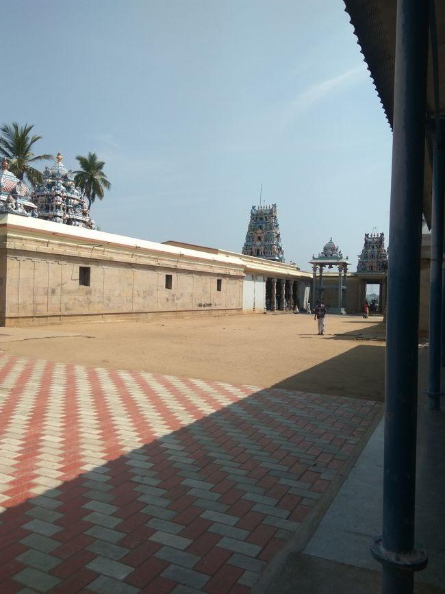 View Of Sri Magudeshwarar Temple Complex
