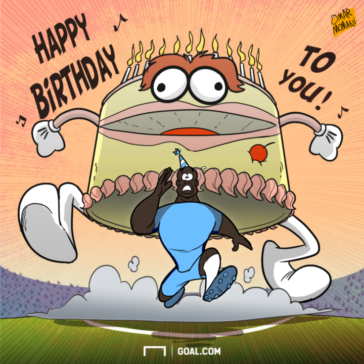 Omar Momani Cartoons Toure And The Birthday Cake