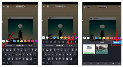 Aplikasi instagram memang selalu menghadirkan aneka macam macam fitur  gres dan juga keren ya √  Cara Mengganti Background Story Post Instagram Secara Mudah