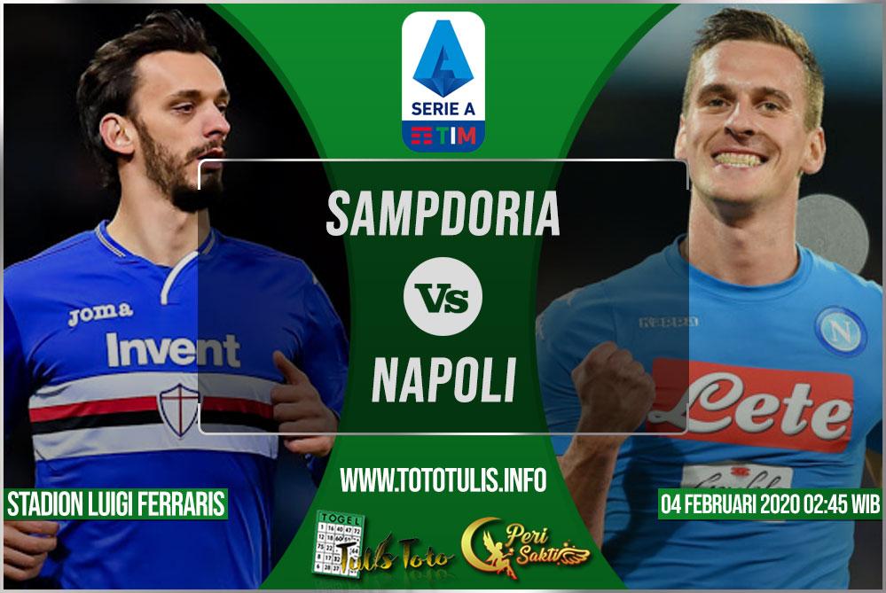 Prediksi Sampdoria vs Napoli 04 Februari 2020