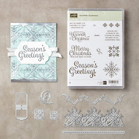 Stampin' Up! Snowflake Sentiments CLEAR Mount Bundle order craft supplies from Mitosu Crafts UK Online Shop