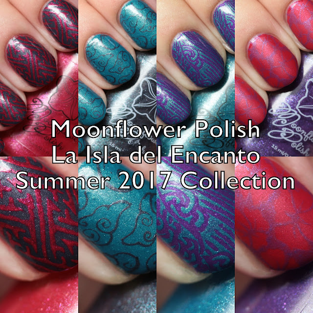 Moonflower Polish La Isla del Encanto Summer 2017 Collection