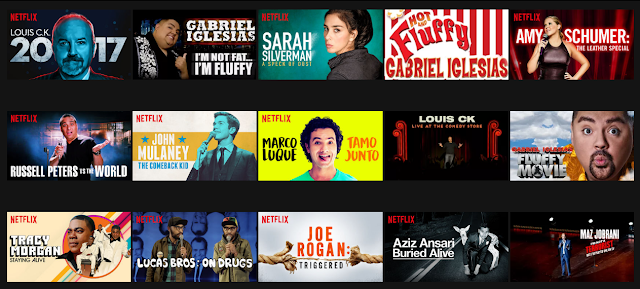 Stand Up Comedy On Netflix