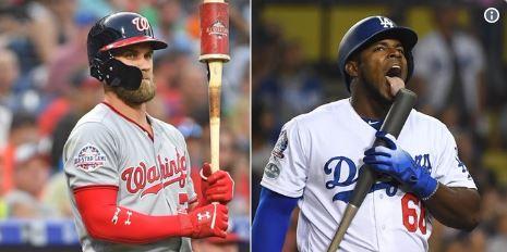 Según los informes, los Dodgers expresaron interés en adquirir a Harper antes de la fecha límite del 31 de julio y nuevamente en agosto, donde Caballo Loco era parte de la oferta