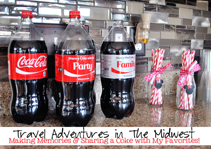 Travel Adventures in The Midwest - Making Memories and Sharing a Coke with My Favorites!