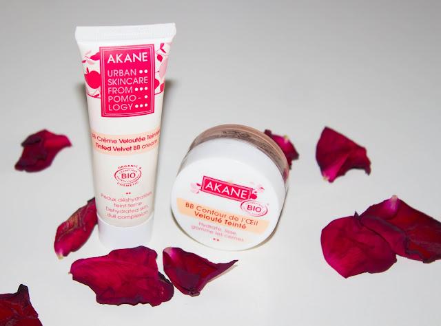 Un joli teint 100% naturel, 100% bio avec Akane (+ concours) 💕