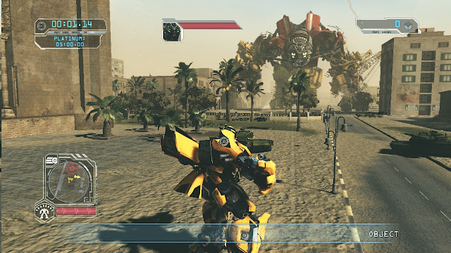 Transformers Revenge of the Fallen PC Full Version Screenshot 1