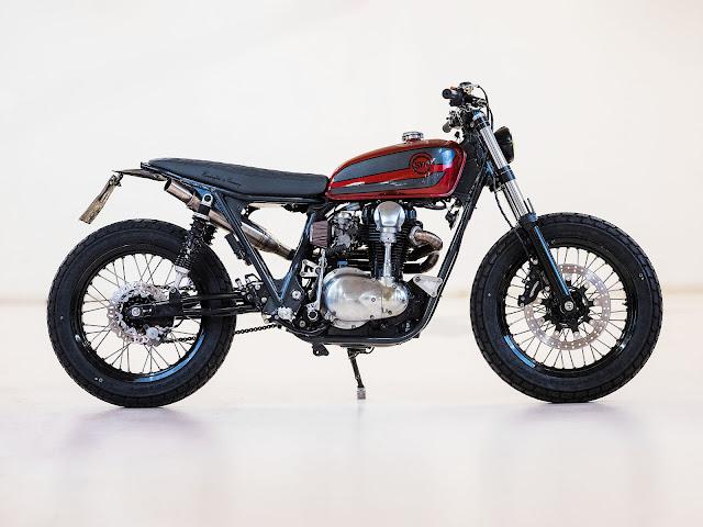 Kawasaki W650 By Schlachtwerk Hell Kustom