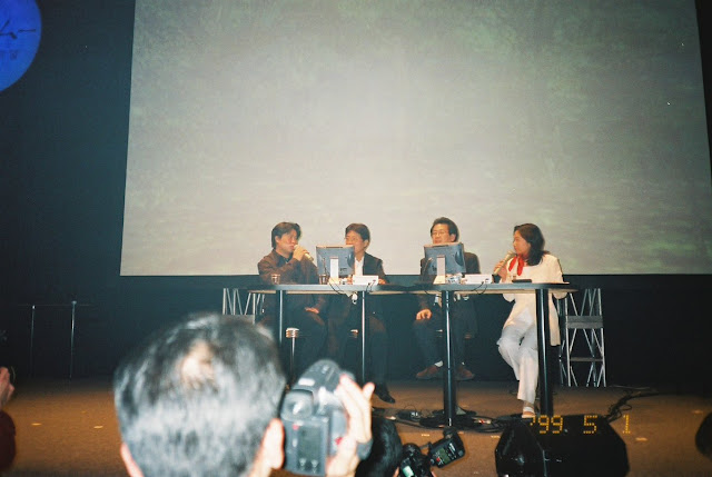 From left: Hiroaki Takeuchi, (former) Managing Director Yukawa and Yu Suzuki.