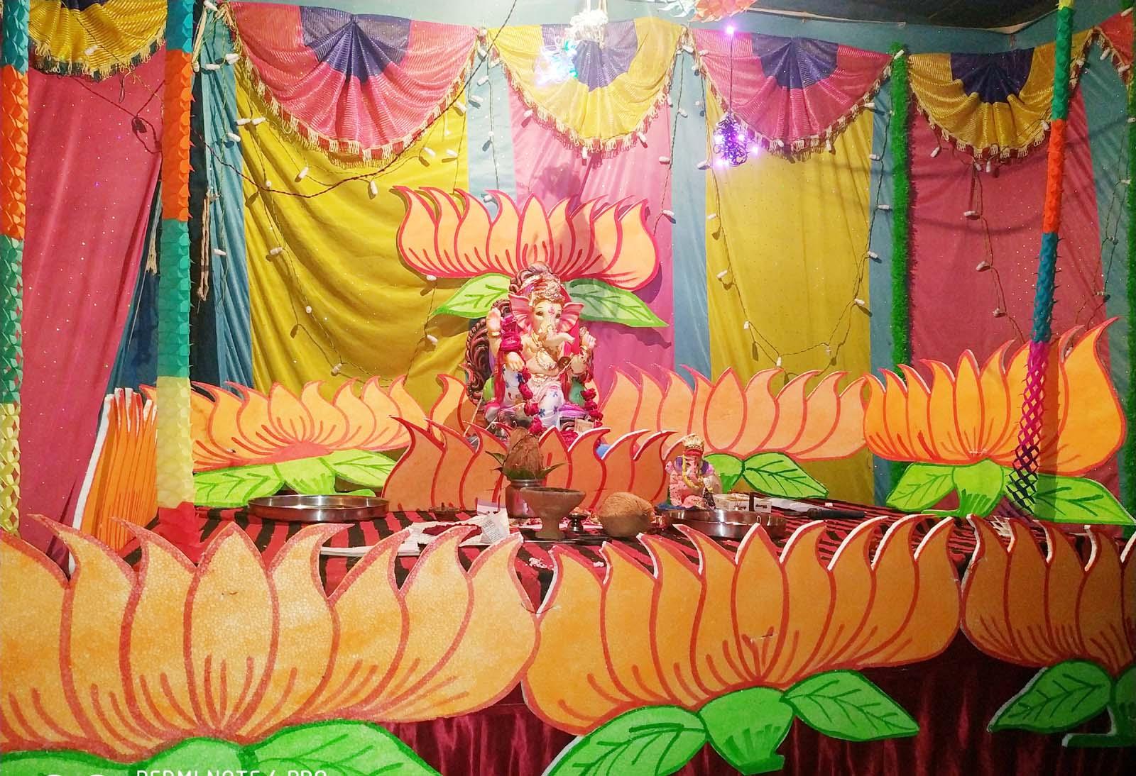Jhabua News- नगर में हर तरफ विघ्नहर्ता श्री गणराजा की धूम, गणेश उत्सव के चलते हो रहेे कई आयोजन